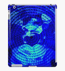 Blue Circles iPad Case/Skin