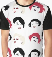 Beth Ditto - Stylised Portraits Graphic T-Shirt