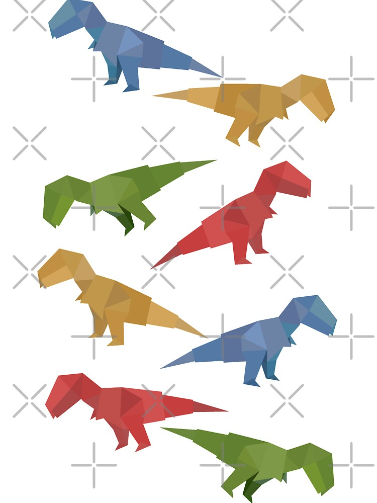 Origami Dinosaur Stock Illustrations – 189 Origami Dinosaur Stock ... | 1000x750