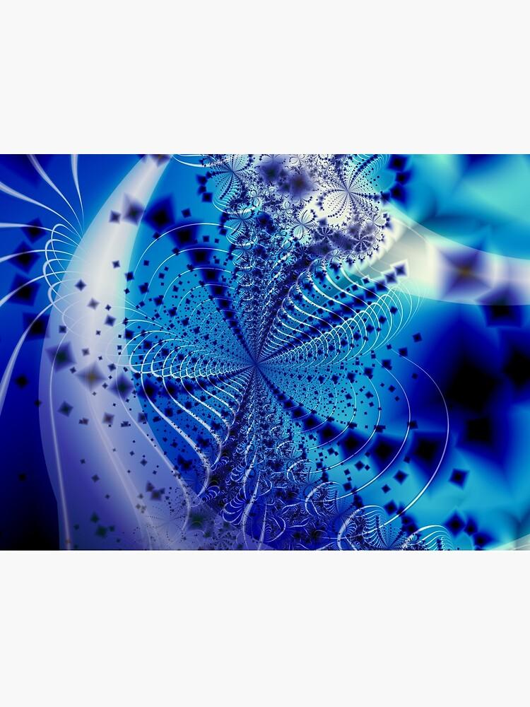 Whirlpool Blue Art by garretbohl