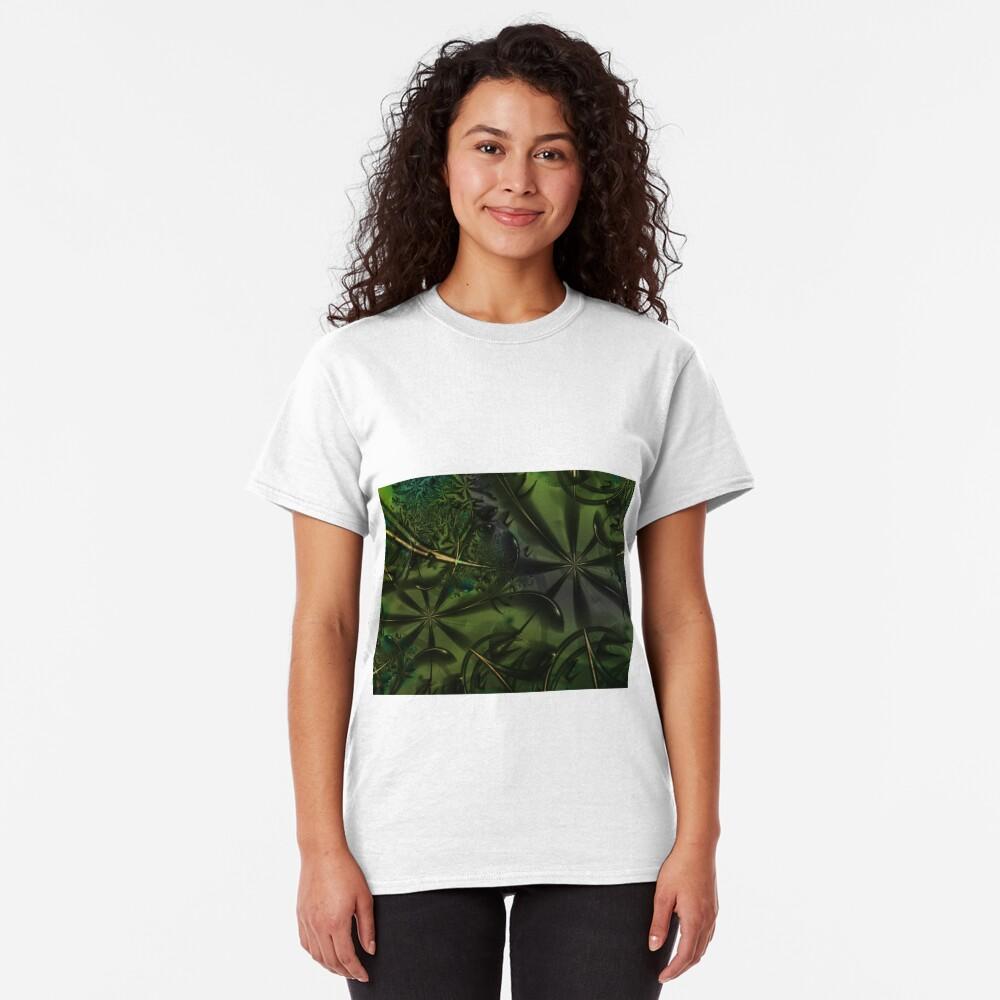 Green Forest Art Classic T-Shirt