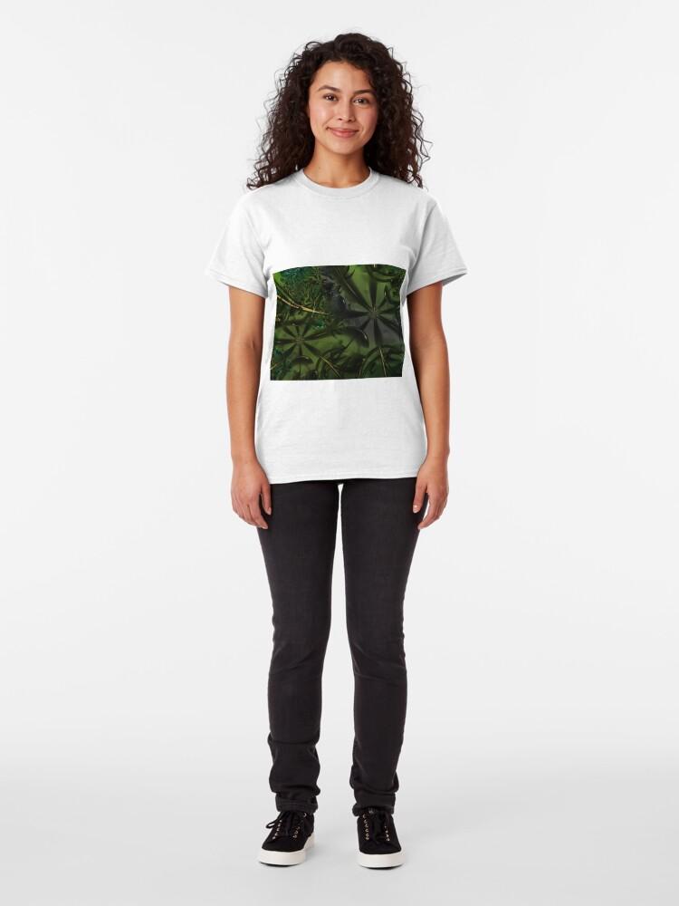 Alternate view of Green Forest Art Classic T-Shirt
