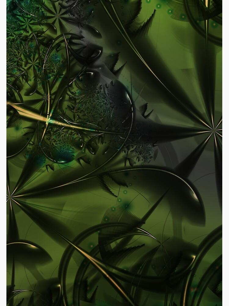 Green Forest Art by garretbohl