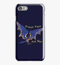 Strike From The Sky iPhone Case/Skin
