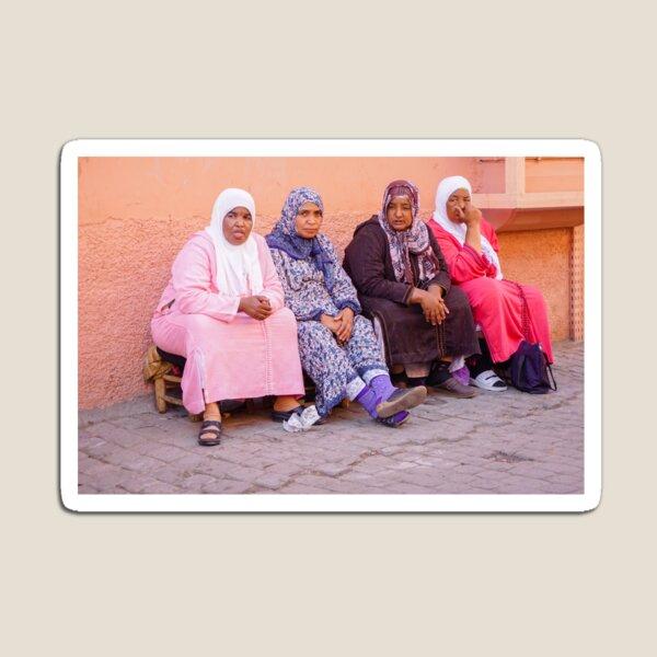 Women in Marrakesh Magnet