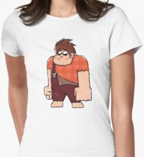 Wreck-It-Ralph Women's Fitted T-Shirt