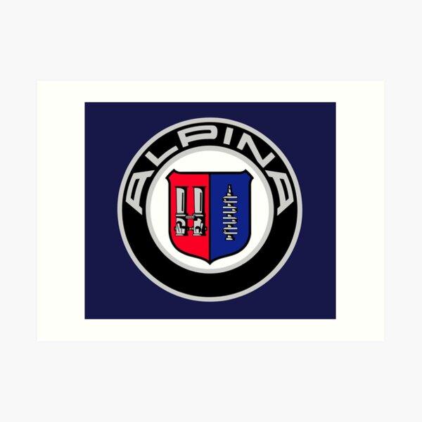 Alpina - Classic Car Logos Art Print
