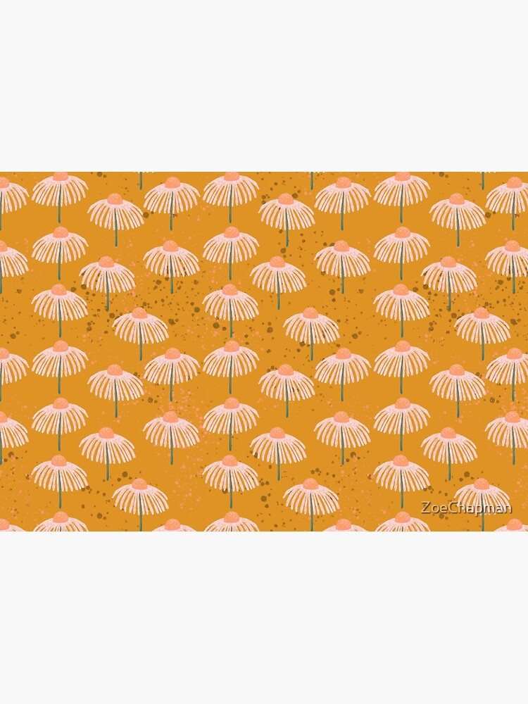 Daisy - Peach and Orange by ZoeChapman