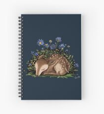 The Sleeping Deer Spiral Notebook