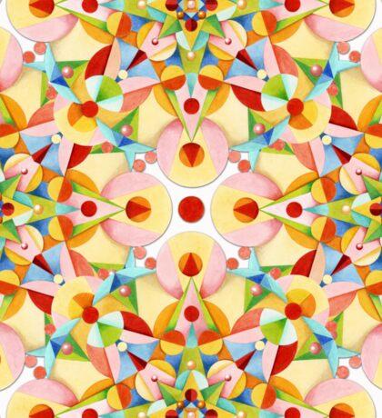 Pastel Mandala II Sticker