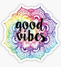 Good Vibes - Mandala Sticker