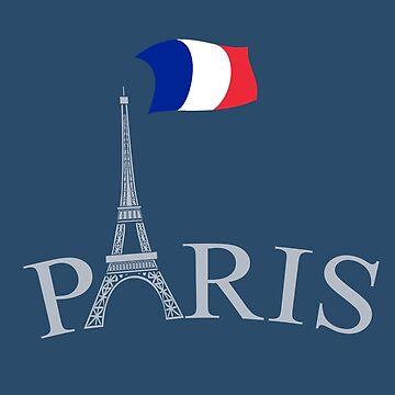 Paris France by CoolTees