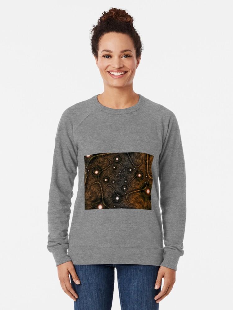 Alternate view of Shades of Brown Lightweight Sweatshirt