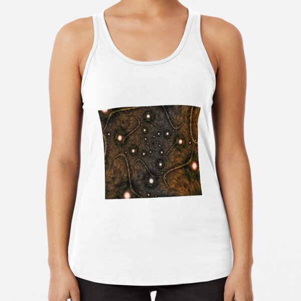 Shades of Brown Racerback Tank Top