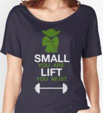 Yoda Workout Shirt Women's Relaxed Fit T-Shirt
