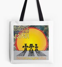 Space Cowboys Under The Sea Of Japan Tote Bag