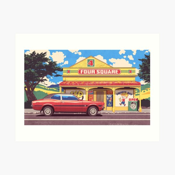 Shop, Bro Art Print