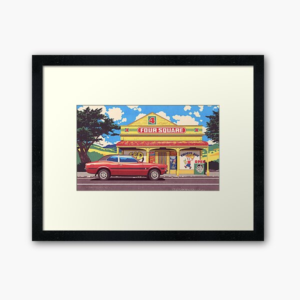 Shop, Bro Framed Art Print