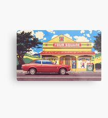 Shop, Bro Metal Print