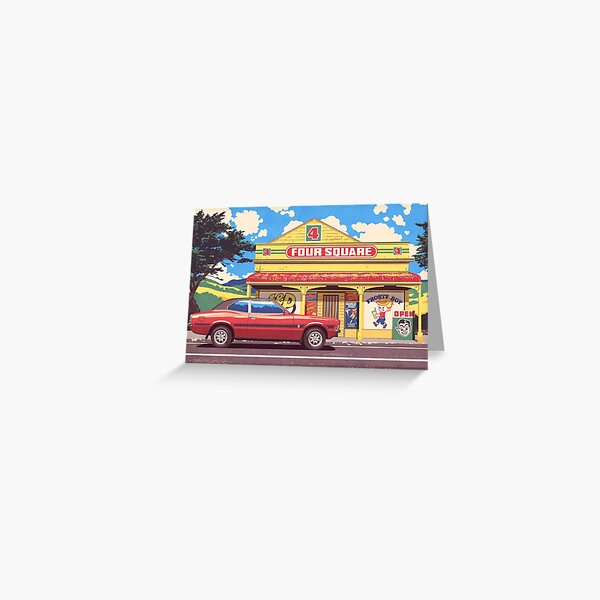Shop, Bro Greeting Card