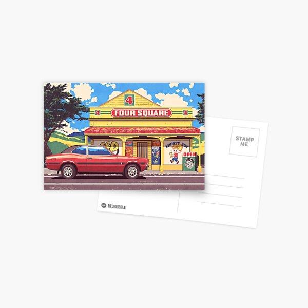 Shop, Bro Postcard