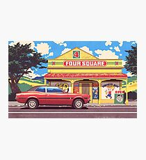 Shop, Bro Photographic Print