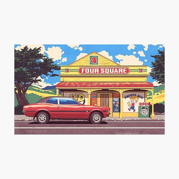 Shop, Bro Photographic Print