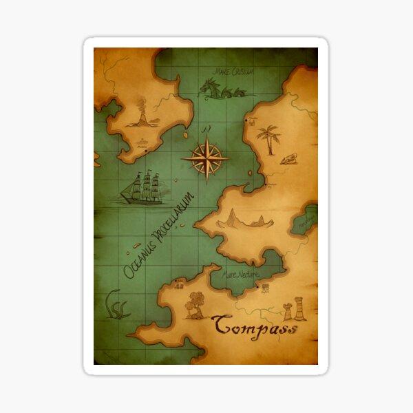 Compass - Harbours Sticker