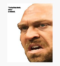 Le Ryback Photographic Print