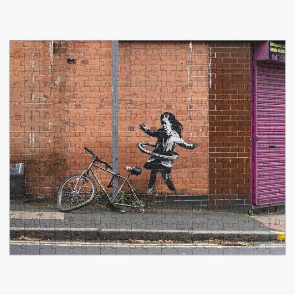 Banksy - Hula Hooping Girl (pneu de vélo Nottingham) Puzzle