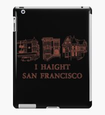 I Haight San Francisco Orange iPad Case/Skin