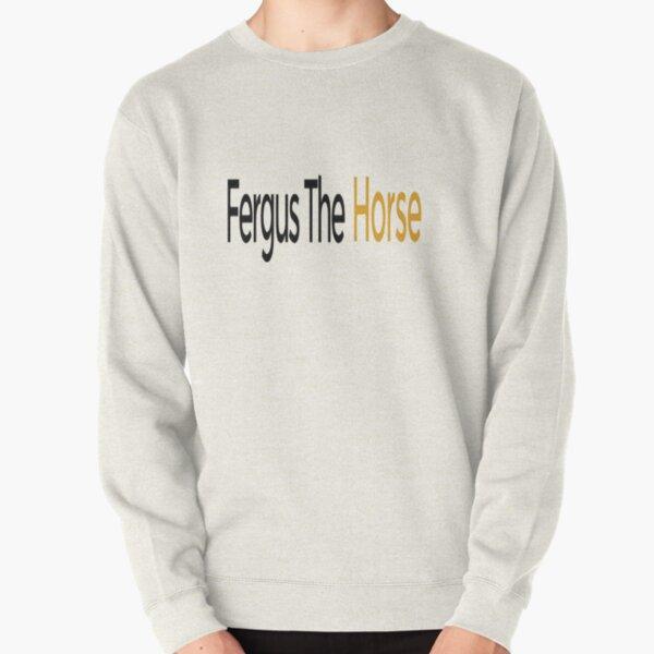 Fergus The Horse Pullover Sweatshirt