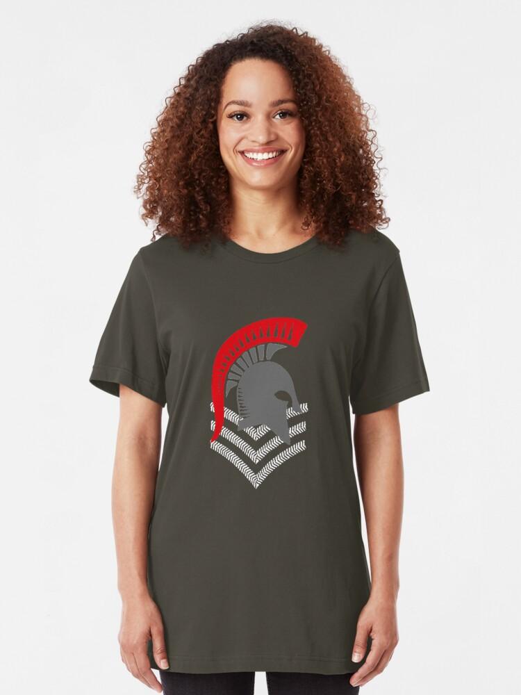 Alternate view of Sgt Spartan Slim Fit T-Shirt