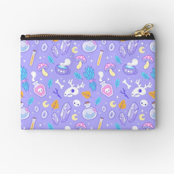 Witchy Ingredients // Pastel | Nikury Zipper Pouch