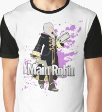 I Main Robin (Female Alt) - Super Smash Bros Graphic T-Shirt