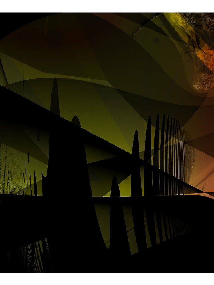 Abstract Landscape Art by garretbohl