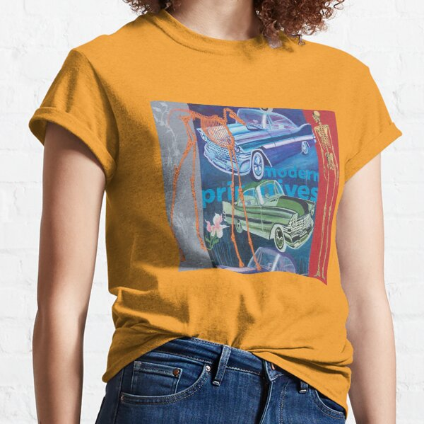 Modern primitives (oilpainting) Classic T-Shirt