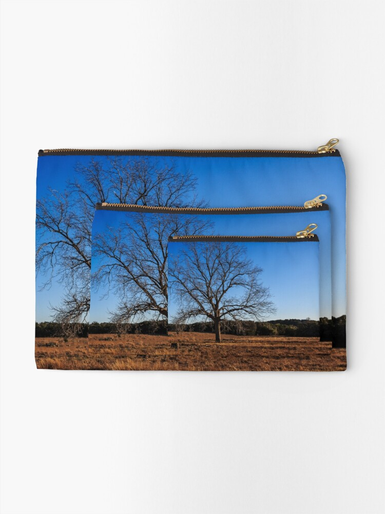 Alternate view of Old Pecan tree Zipper Pouch