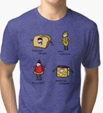 Bakery Street & Shortcake Yard Tri-blend T-Shirt