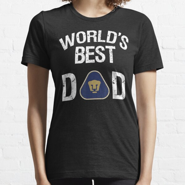 Fc Pumas Unam Mexico World'S Best Dad Father'S Day Gift Essential T-Shirt