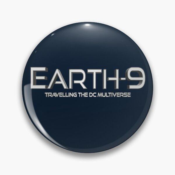 Earth9 Logo Pin