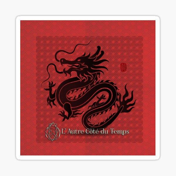 Dragon Estampe Sticker