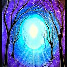 Light - Trees by Linda Callaghan