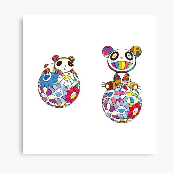 Takashi Murakami Panda Canvas Print