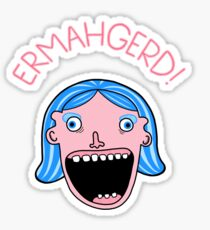 Ermahgerd! Sticker