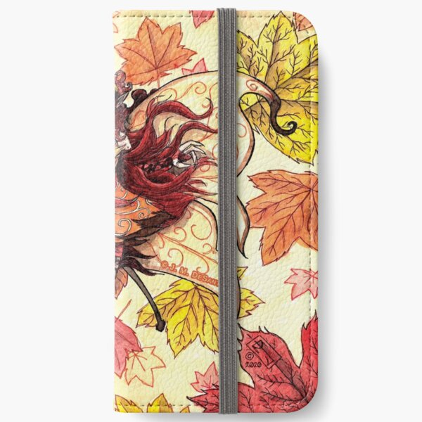 Fall Faerie iPhone Wallet