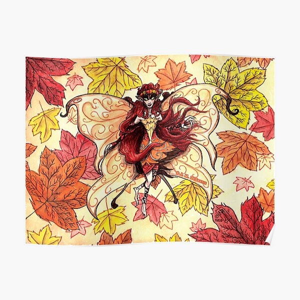 Fall Faerie Poster