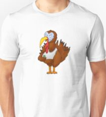 Beer Turkey Cartoon T-Shirt