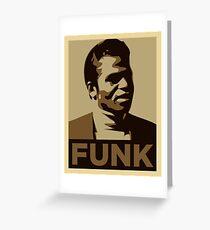 Funk Music Greeting Card