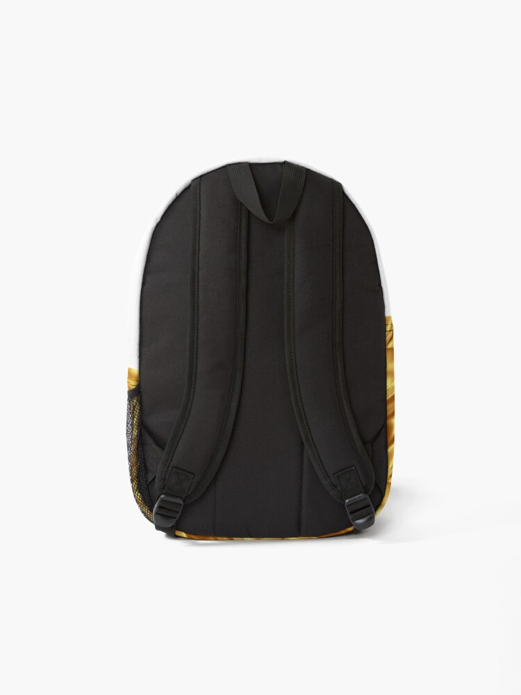 Alternate view of Super Shiny Gold Merchandise Backpack